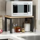 簡易微波爐架置物架家用調料烤箱架儲物架經濟型  萬客居