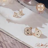【限時79折】耳環 童趣羊駝造型耳環-Ruby s 露比午茶