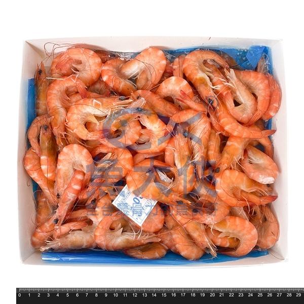 1B4A【魚大俠】SP036特鮮70/80熟白蝦(1.2kg/盒)#熟熟熟