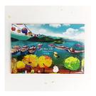 【收藏天地】台灣紀念品*創意特色磁鐵 - 日月潭 /  旅遊 紀念品 手信 景點
