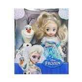 《 Disney 迪士尼 》4吋迷你 艾莎娃娃組╭★ JOYBUS玩具百貨