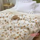 毛毯 雙層加厚羊羔絨毛毯宿舍ins風小清新單人午睡毯子自習室韓式蓋毯