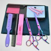 理發剪刀美發剪刀家用剪瀏海平剪打薄剪牙剪工具兒童剪發組合套裝