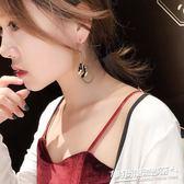 耳環 潮人一款兩戴耳環女個性百搭長款超仙顯瘦日常宴會送禮