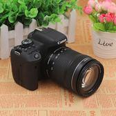 高清長焦照相機佳能 EOS 750D 18-55mm 套機入門單反相機 旅遊高清相機 igo 免運