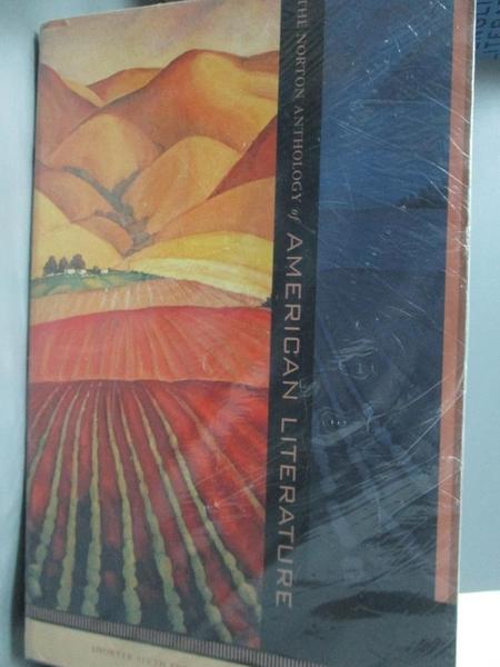 【書寶二手書T8/文學_WDQ】The Norton Anthology of American Literature_