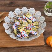 時尚鏤空果盤塑料果籃干果盤 歐式糖果零食盤子水果點心盤 雲雨尚品