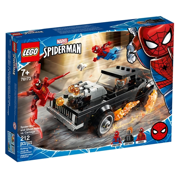 LEGO樂高 Marvel Avengers系列 Spider-Man and Ghost Rider vs. Carnage_LG76173