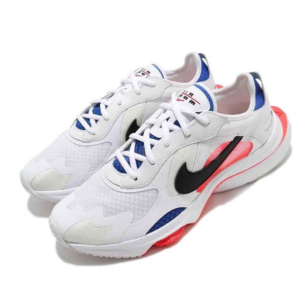 Nike 休閒鞋 Air Zoom Division 白 藍 紅 男鞋 復古慢跑鞋 氣墊 運動鞋 【ACS】 CK2946-100