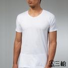 三槍牌 4件組白色時尚型男純棉短袖汗布衫 3XL-4XL