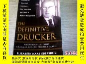 二手書博民逛書店The罕見Definitive DruckerY27345 El