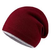 羊毛毛帽-休閒保暖包頭護耳男針織帽6色73wj8【時尚巴黎】