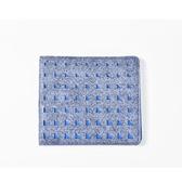 (五折)M.R.K.T. Diego Wallet 極簡工業風切割圖案設計短夾-118921B GREY(灰色)