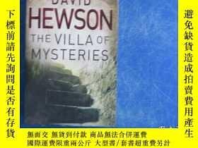二手書博民逛書店THE罕見VILLA OF MYSTERIESY23809 David Hewson Pan Books 出