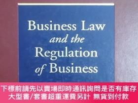 二手書博民逛書店英文原版:Business罕見Law and the Regulation of BusinessY367