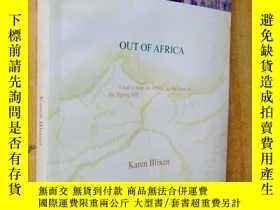 二手書博民逛書店Out罕見of Africa 走出非洲181909 Karen