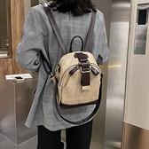 後背包 港風復古女士包包2021網紅新款潮百搭手提單肩斜挎小包時尚後背包 韓國時尚週