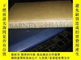 二手書博民逛書店BARNEY,s罕見BARGES【32開精裝,1944年版】Y1
