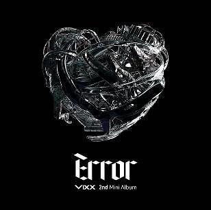 VIXX  第二張迷你專輯  Error 台壓特別版A版 CD附DVD (購潮8)