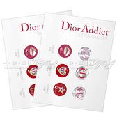【VT薇拉寶盒】Dior 迪奧 Ultra-Gloss Home鍵貼紙(Iphone,Ipad,Ipad mini,Ipod touch)*2