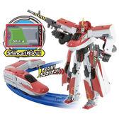 《 TOMICA 》DXS02 新幹線變形機器人 E6 小町號╭★ JOYBUS玩具百貨