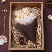 聖誕節香皂玫瑰花創意走心的七夕情人節女生日禮物送女友朋友情侶少女心