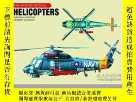 二手書博民逛書店Helicopters罕見– Aviation Fact File (damaged)-直升機-航空事實文件(損壞