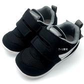 《7+1童鞋》小童 MOONSTAR 日本月星 十大機能Hi系列寶寶鞋 學步鞋 運動鞋 機能鞋 C442 黑色