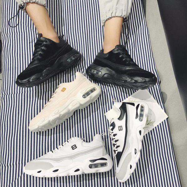 男鞋秋冬季ins超火的鞋子韓版潮流原宿風增高氣墊運動老爹鞋子男
