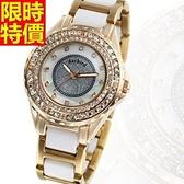 鑽錶-大方嚴選品味女手錶4色5j147[巴黎精品]