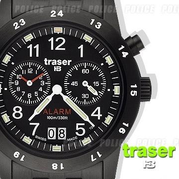 丹大戶外用品【Traser】Traser CLASSIC ALARM BD鬧鈴計時錶 #100264