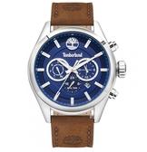 Timberland 踢不爛 時尚手錶 (TBL.16062JYS/03) 藍/46mm