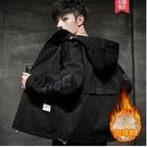 羊羔絨外套男士工裝加絨夾克2020秋冬季新款韓版潮流男生休閒衣服 酷男精品館