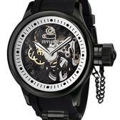 【INVICTA】簍空機械腕錶 - 52mm 黑色