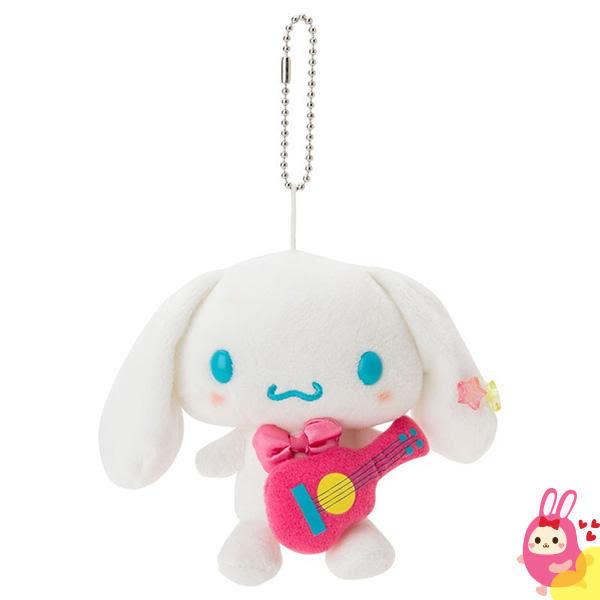 Hamee 日本正版 三麗鷗 繽紛暑假 絨毛娃娃 掌上型玩偶 珠鍊吊飾 (大耳狗) 379557