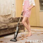 除螨吸塵器 德爾瑪吸塵器家用小型手持式推桿強力大功率除螨地毯式迷你 芭蕾朵朵IGO