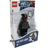 《 樂高積木 LEGO 》星際大戰 STAR WARS LED 燈鑰匙圈 - 達斯魔╭★ JOYBUS玩具百貨