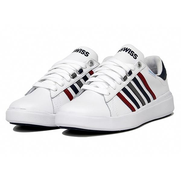 K-SWISS PERSHING COURT LIGHT WP 防水男款休閒鞋 06387164 白
