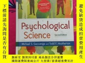 二手書博民逛書店Psychological罕見Science: Mind Bra