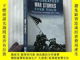 二手書博民逛書店THE罕見GREATEST WAR STORIES EVER T
