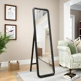 北歐實木穿衣鏡全身鏡子掛墻試衣鏡臥室壁掛更衣鏡落地鏡家用美式