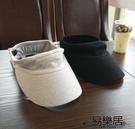 棒球帽春夏棉純色空頂帽棒球帽鴨舌帽