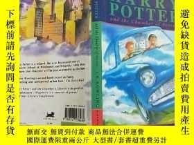 二手書博民逛書店Harry罕見Potter and the Chamber of Secrets(英文版) 大32開Y1140