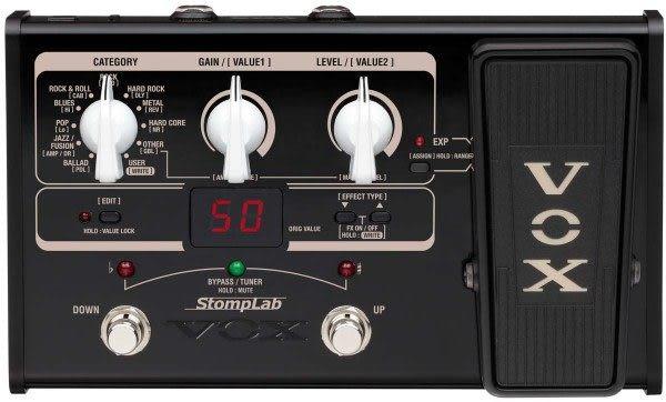 【電吉他綜合效果器】【VOX StompLab IIG】【日本製】 【小新樂器館】