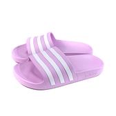 adidas 拖鞋 運動型 防水 粉紫色 女鞋 FY8098 no927