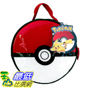 [美國直購] 神奇寶貝 精靈寶可夢周邊 Pokemon KAB23585139 Pokeball Lunch Kit 8.5 Inches Diameter x 3 Inches Height