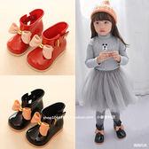 仿梅麗莎寶寶雨鞋女童雨靴嬰幼兒童小雨鞋短靴子1-2-3-4-5歲公主