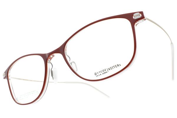 VYCOZ光學眼鏡 KEITERS RED (紅-霧金) 輕盈率性設計款 #設計師品牌