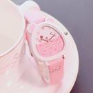 兒童手錶 兒童手錶女孩防水學生可愛小學生時尚款女童男孩玩具公主粉色手錶 店慶降價