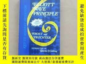 二手書博民逛書店Elliott罕見Wave Principle: Key To